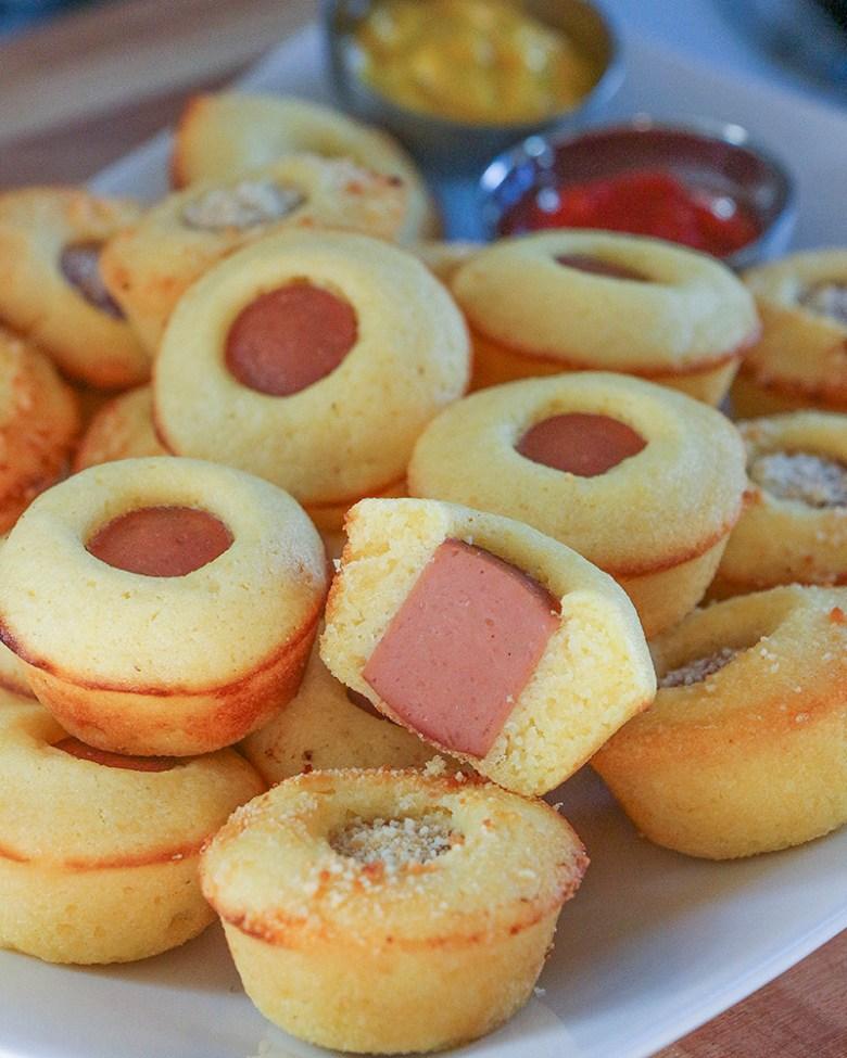 minicupcake salsicha