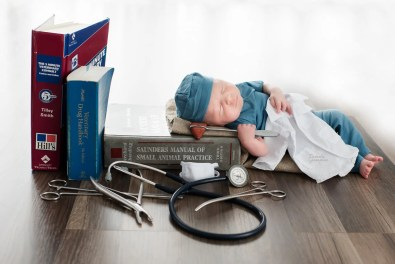 Imagination Sessions Baby Veterinarian Pictures