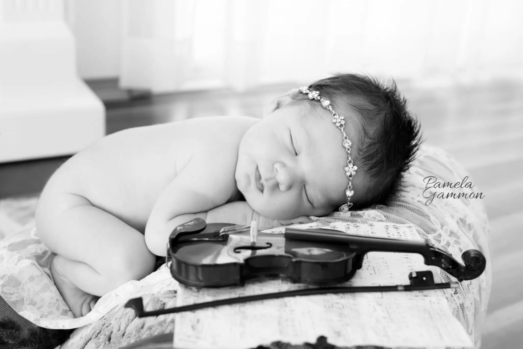 Baby Violinist | Baby Violin | Baby Fiddle | Baby Fiddler | Newborn Fiddler | Newborn Fiddle | Newborn Violin | Newborn Violinist | Baby Musician | Baby with Instruments | Baby Photography | Baby Photographer | Baby Pictures | Newborn Photographer | Newborn Photography | Newborn Girl Photography | Newborn Photos | Newborn Musician Pictures | Newborn Musician | Guitar | Newborn Imagination Sessions | Pamela Gammon Photography | Newborn Guitarist | Baby Guitarist