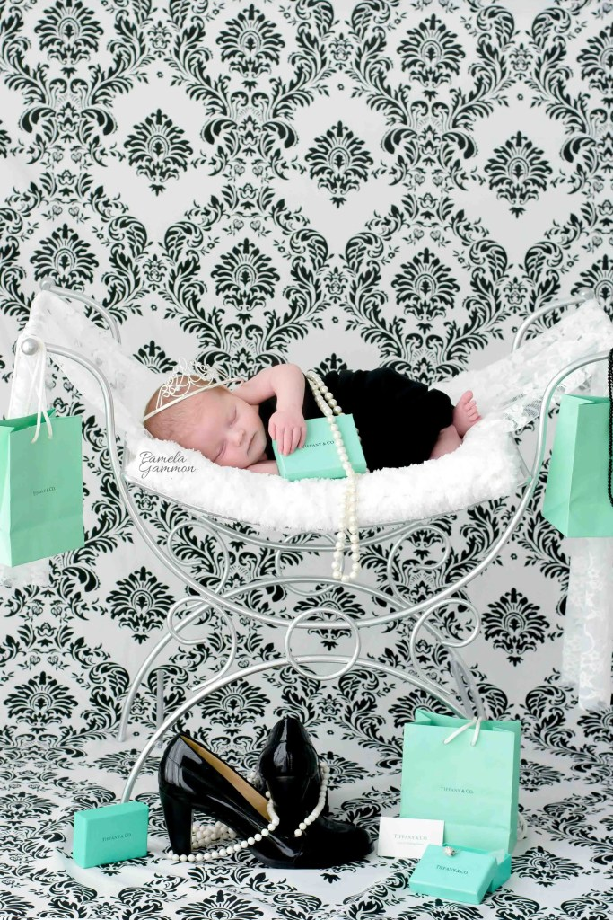 Breakfast At Tiffany's Baby Session