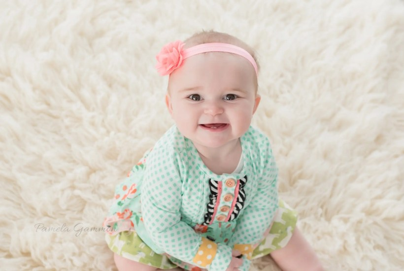 9 Month Baby Milestone Sessions Portsmouth Ohio