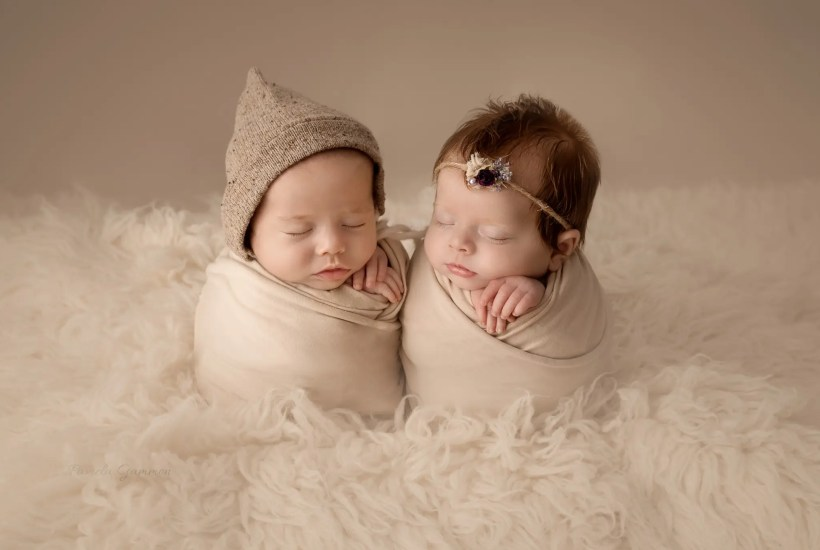 Twin Newborn Photography Portsmouth Ohio