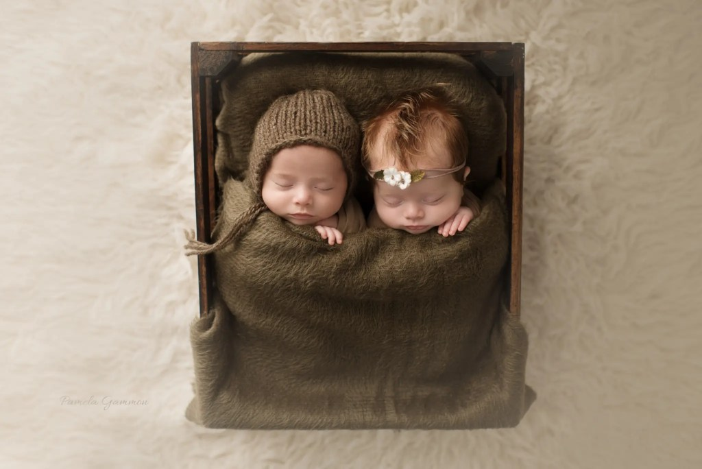 Southern Ohio Twin Newborn Photographer