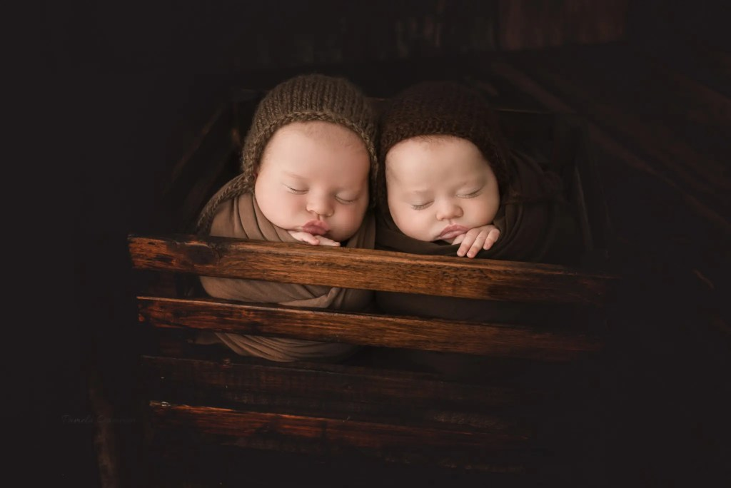 Newborn Twin Photography Ashland KY