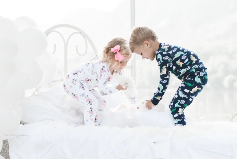 Toddler Twin Photography Ideas