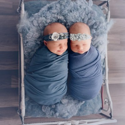 Ohio Newborn Twin Session | Mallie and Marleigh