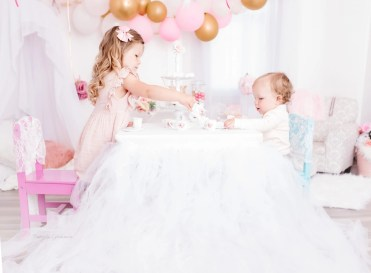 Sibling Imagination Sessions Tea Party Toddlers