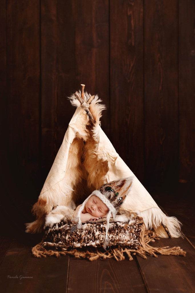 Native American Newborn Photographer