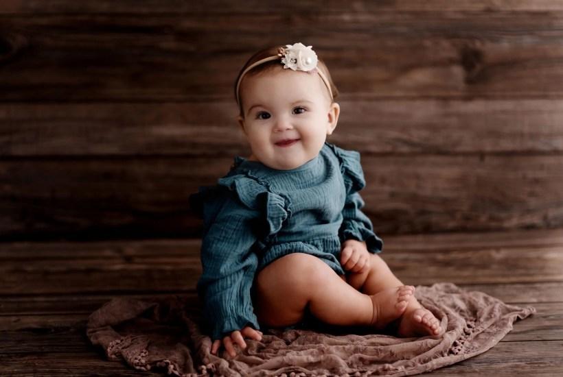 Baby Milestone Session Portsmouth Ohio