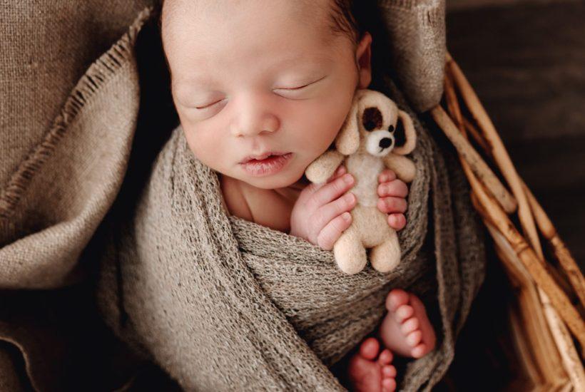 Newborn Boy Photo Session West Virginia