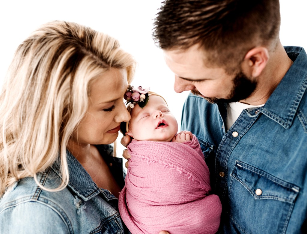 Family newborn photography Session