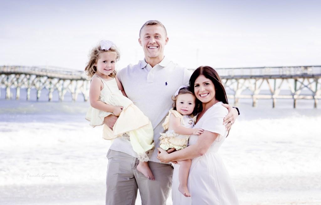 Cherry Grove Beach Family Photography