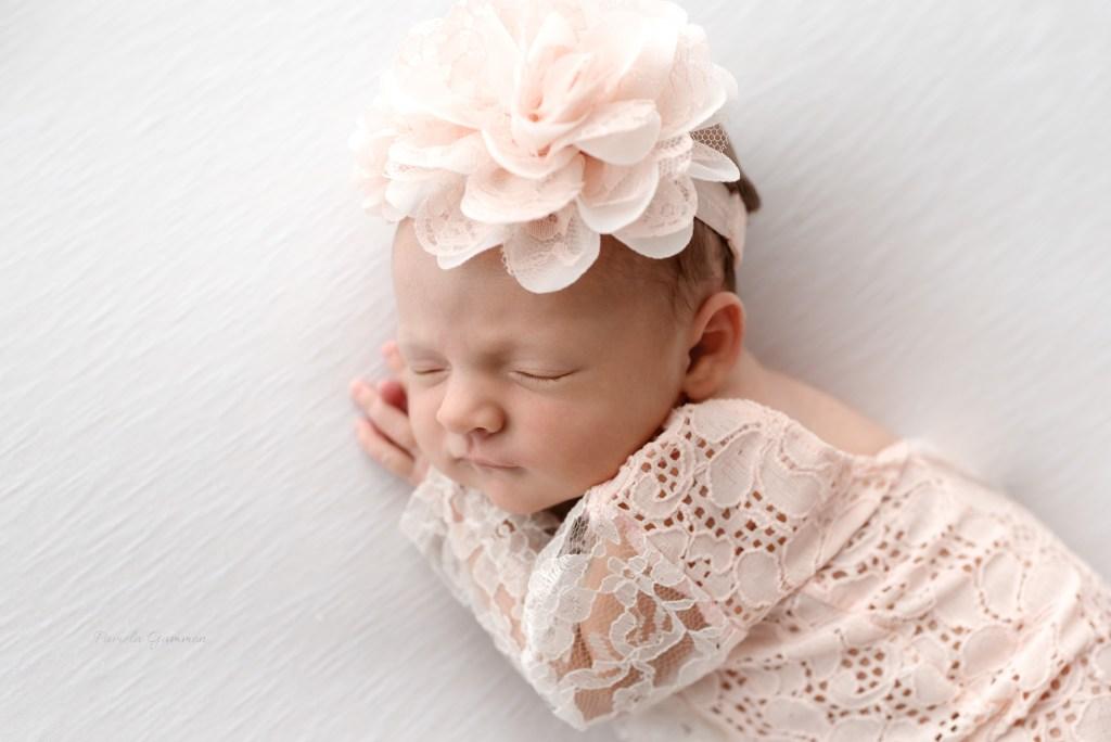 Newborn Girl Photography Poses