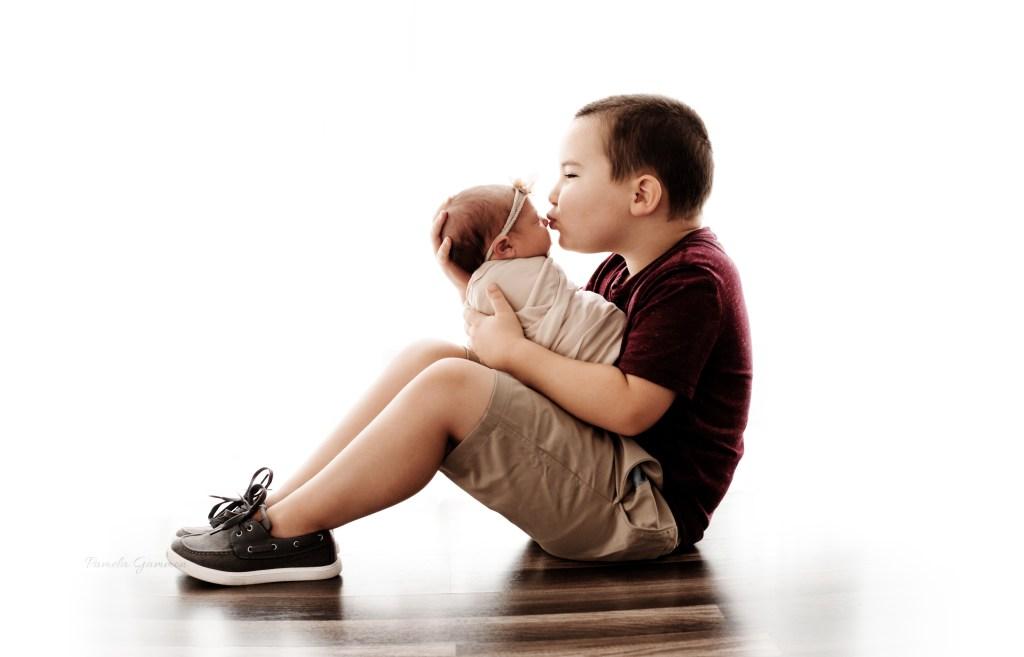 Sibling Baby Photography Studio