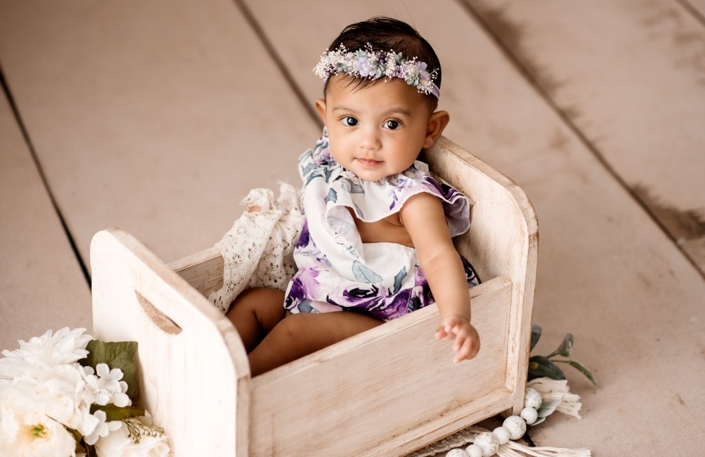 Baby Girl 6 Month Pictures KY