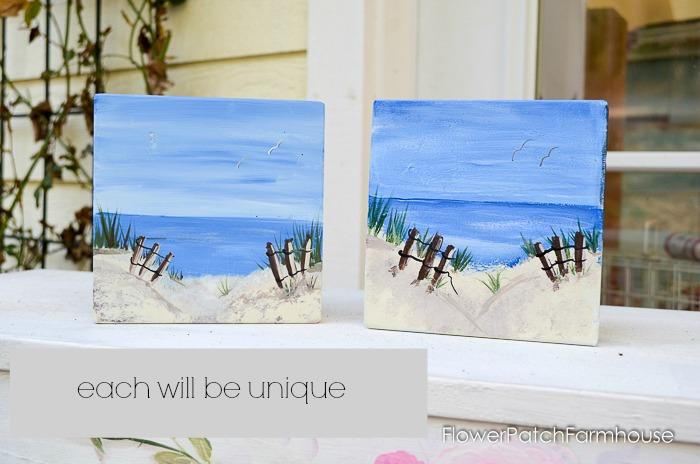 Paint a Beach