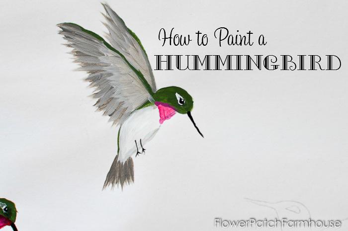 Paint a Hummingbird