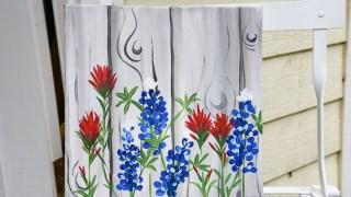 Paint Texas Bluebonnets