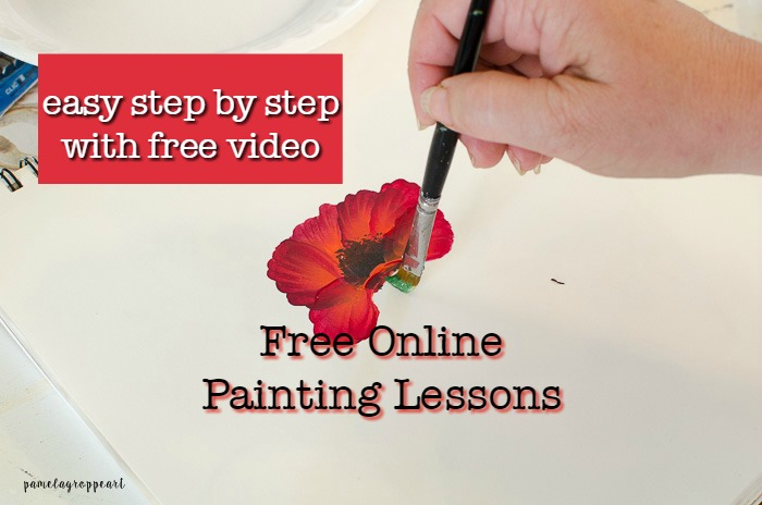 Easy Free Online Painting Lessons & Tutorials