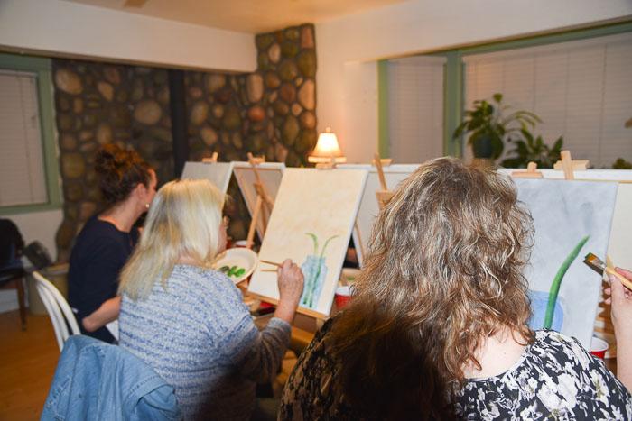 paint party pamela groppe art