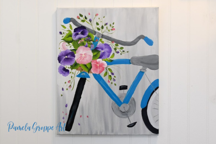How To Paint A Simple Daisy Pamela Groppe Art