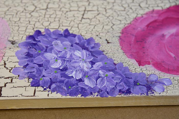 Paint Lilacs in Acrylics