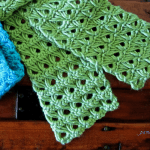 Irish Broomstick Scarf