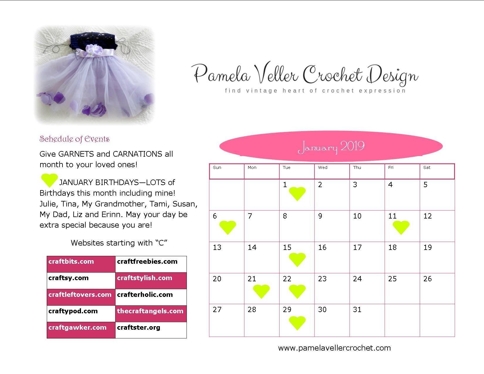 10 Great Craft Websites Pamela Veller Crochet Design