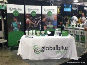globalbike Wipes Interbike Launch