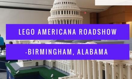 Lego Americana Roadshow Birmingham, Alabama