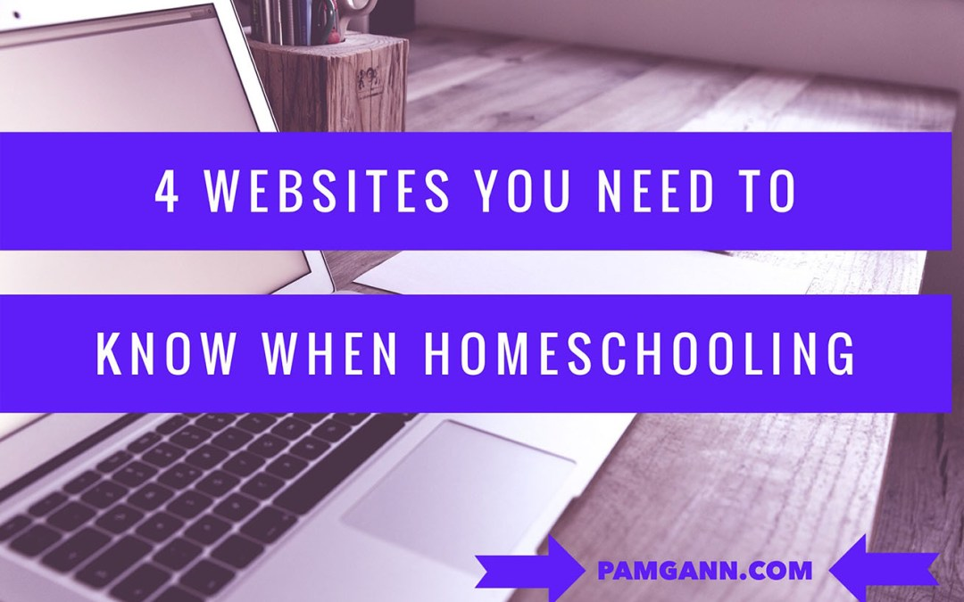 4 Websites You Need to Know When Homeschooling