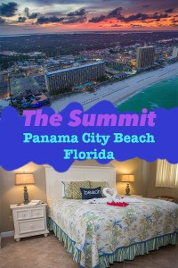 The Summit Condos in Panama City Beach, Florida; This condo community features two pools... one heated! and two hot tubs! Check out this video of the unit we stayed in, including drone video! The Summit is located beachfront off Thomas Drive next door to Club La Vela!
