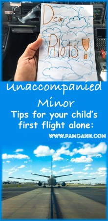 Unaccompanied Minor: What you need to know when your kids fly alone