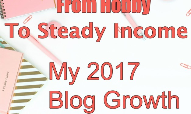 From Hobby to Steady Income: My 2017 Blog Growth