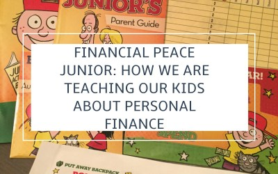 Financial Peace Junior: How We Are Teaching Personal Finance to Our Kids