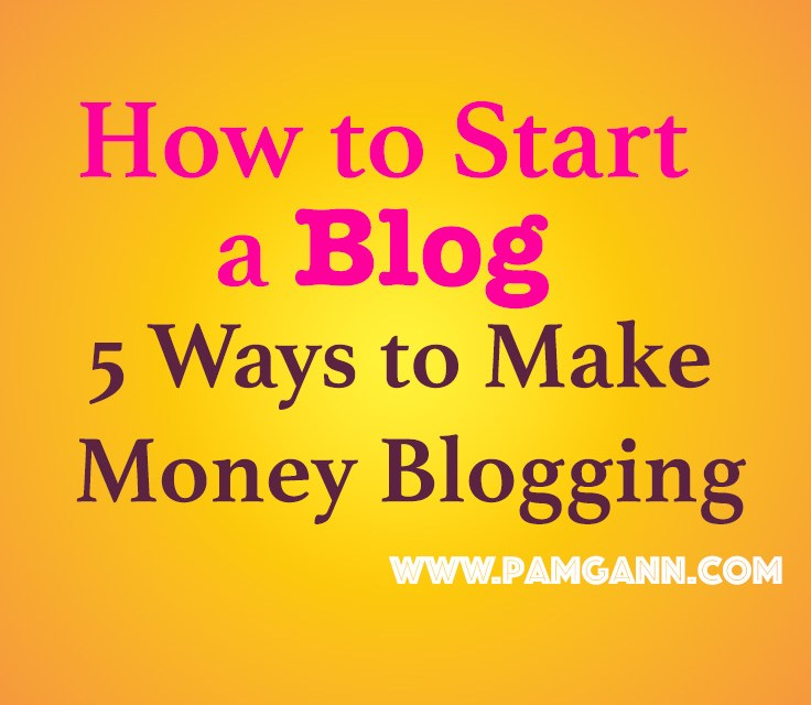 Making Money from Home: Start a Blog Today