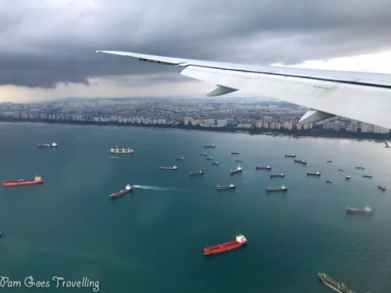 of Singapore, vessels and high rises
