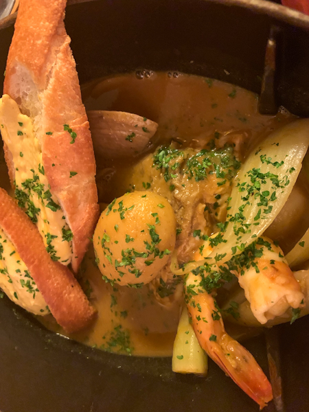 Bouillabaisse at The Rooster