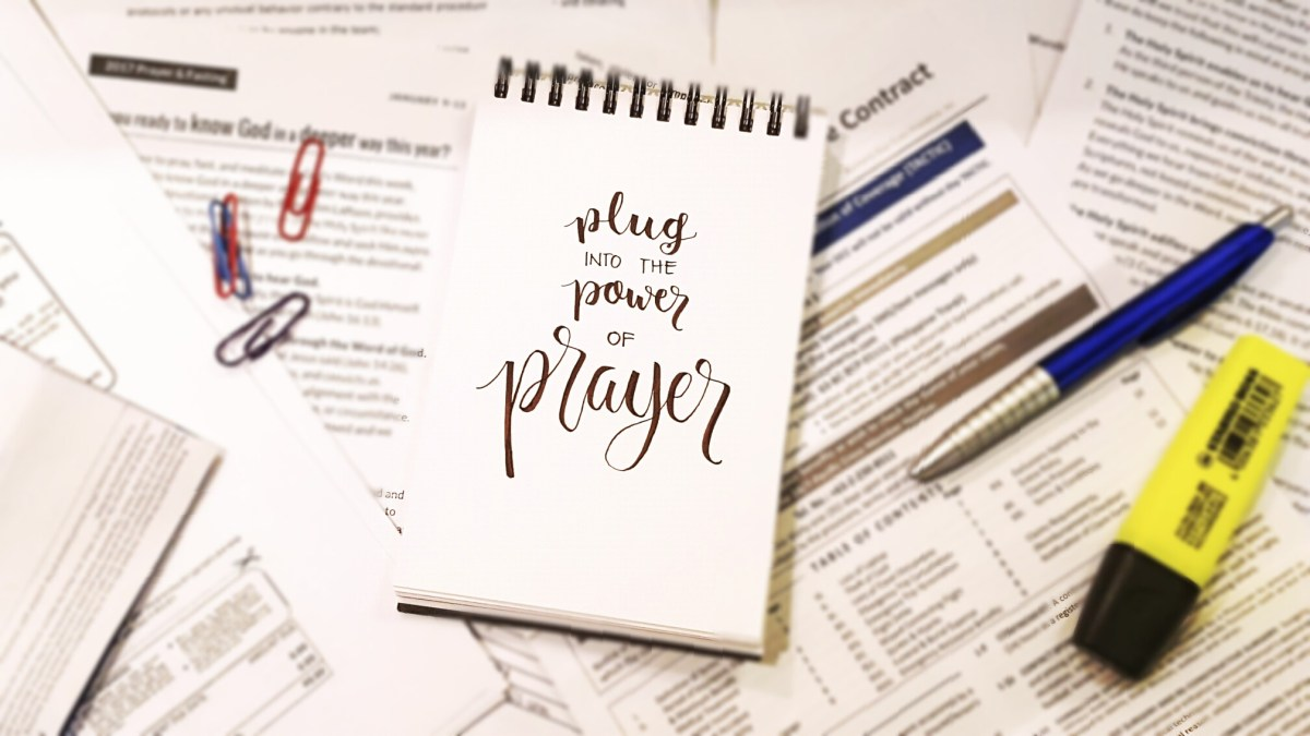 Productivity P #2: Prayer