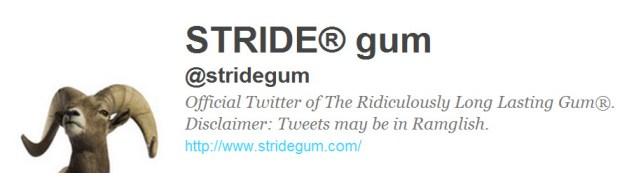 stride gum ram social listening case study