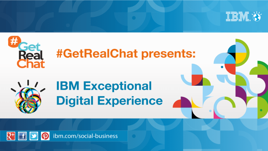 getrealchat ibm exceptional design experience