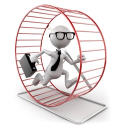 get out of the social hamster wheel and connect