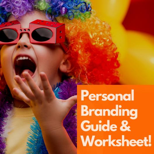 Personal Branding Guide Worksheet Strategy