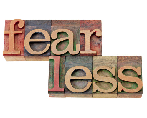 let go of fear in life and business