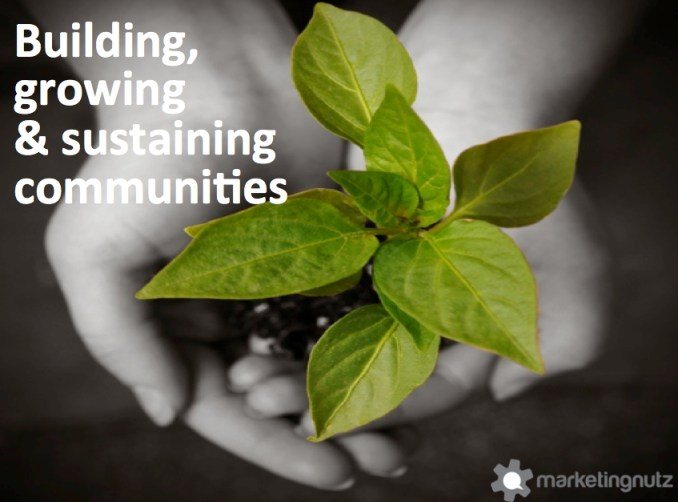 social media strategy community growth