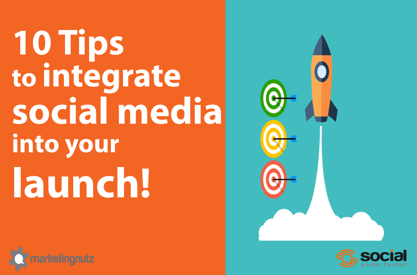 social media product launch strategy