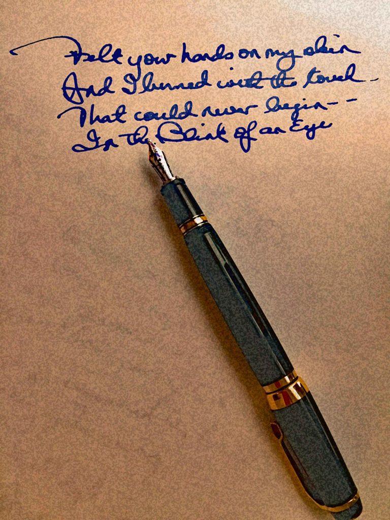 Pamela Phillips-Oland Handwritten Lyrics