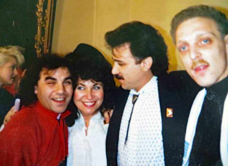 Photo of Pamela Phillips, Franke Previte, Sergei Manoukyan, Mikk Targo