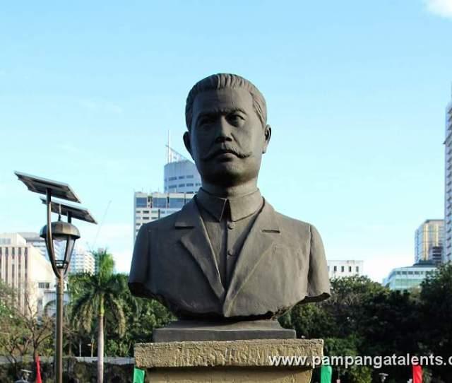 Marcel H Del Pilar Statue Bulacan 1850 1896 Philippine Hero From Bulacan Philippines