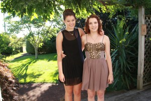 Our two beautiful girls! We are so proud of both of them :-)